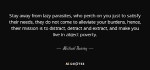 Lazy Parasites – Narcissism and how to survive it